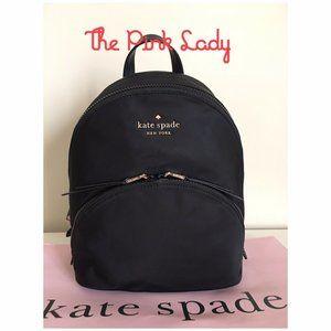 KATE SPADE Medium KARISSA NYLON Backpack in Black